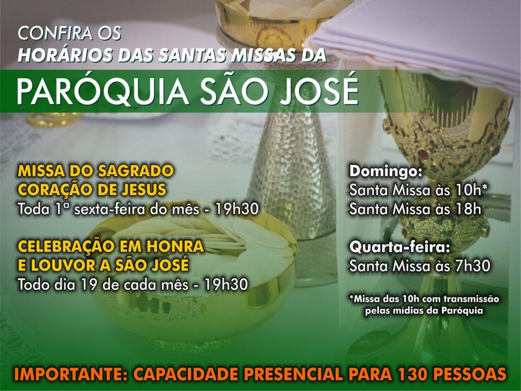 Capa Horário Missas - 280x210